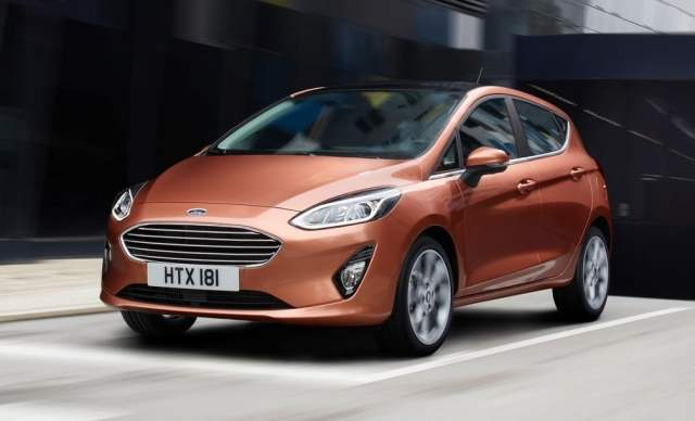 ford cars at auto expo 2018 2017 ford fiesta hatchback