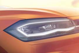new 2018 volkswagen polo india front headlights