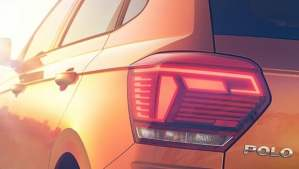 new 2018 volkswagen polo india rear taillights