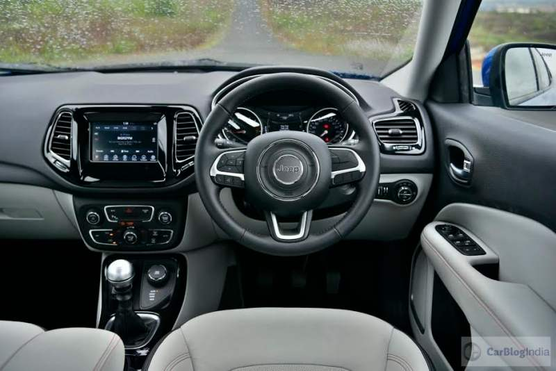 Jeep Compass India Images Front Steering Wheel