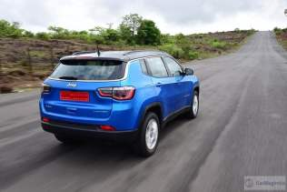 jeep compass india images rear action