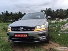 volkswagen tiguan test drive review images front