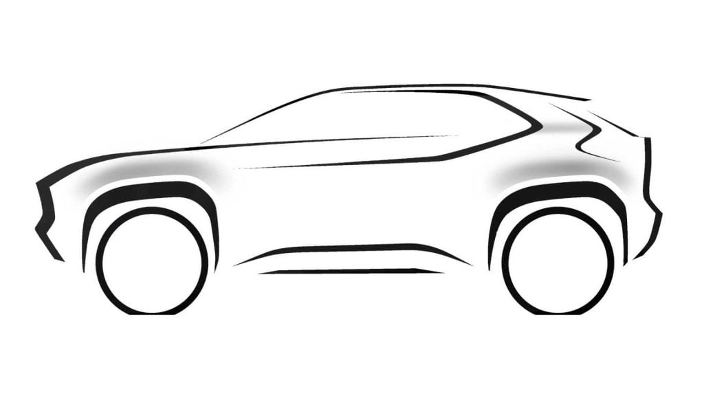 New Toyota Crossover SUV Teased For The Geneva Motor Show