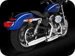 XL 883L Sportster  exhaust pipes