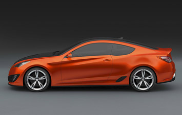 Hyundai Concept Genesis Coupe - rendering