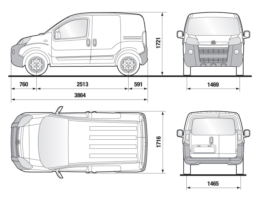 citroen berlingo van dimensions ~ World Activity