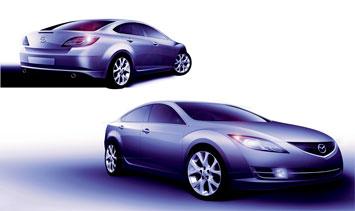 mazda6 design story car body design