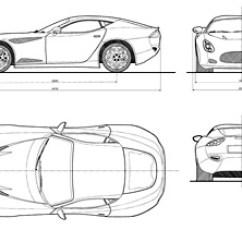 2006 Jetta Tdi Fuse Diagram 1994 Honda Civic Wiring Zagato Perana Z One Concept Page 3 Car Body Design 4 Views Drawing