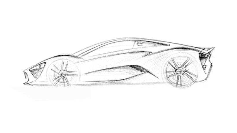 Zen Car Sketch