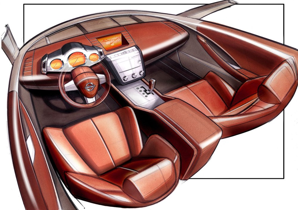 medium resolution of 2001 nissan murano concept interior