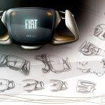 Fiat Mio Fcc Iii Concept Steering Wheel Design Sketch Car Body Design