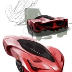 Ferrari F80 By Jaehansong Car Body Design