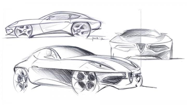 Touring Superleggera Disco Volante Concept: design gallery