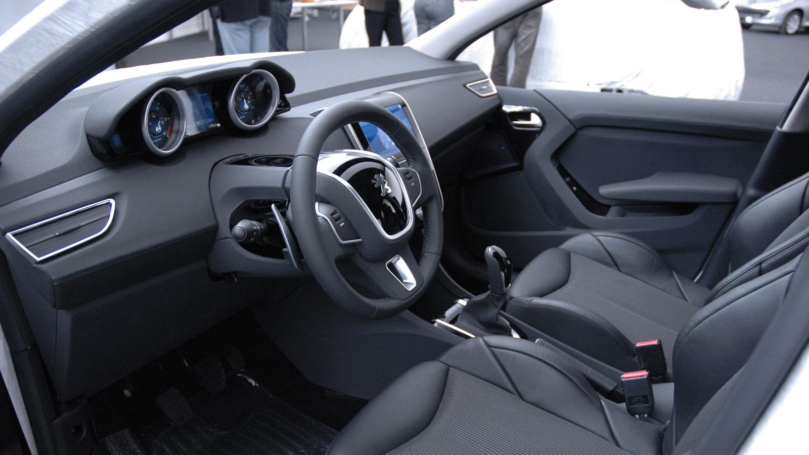 Peugeot 208 Interior Design Model Car Body Design