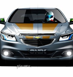 chevrolet onix design sketch [ 1600 x 1200 Pixel ]