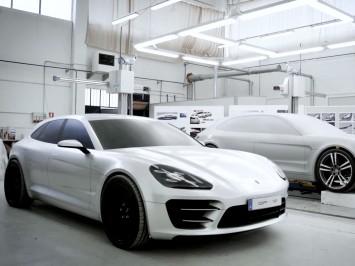 Porsche Panamera Sport Turismo Concept: the Design (video)