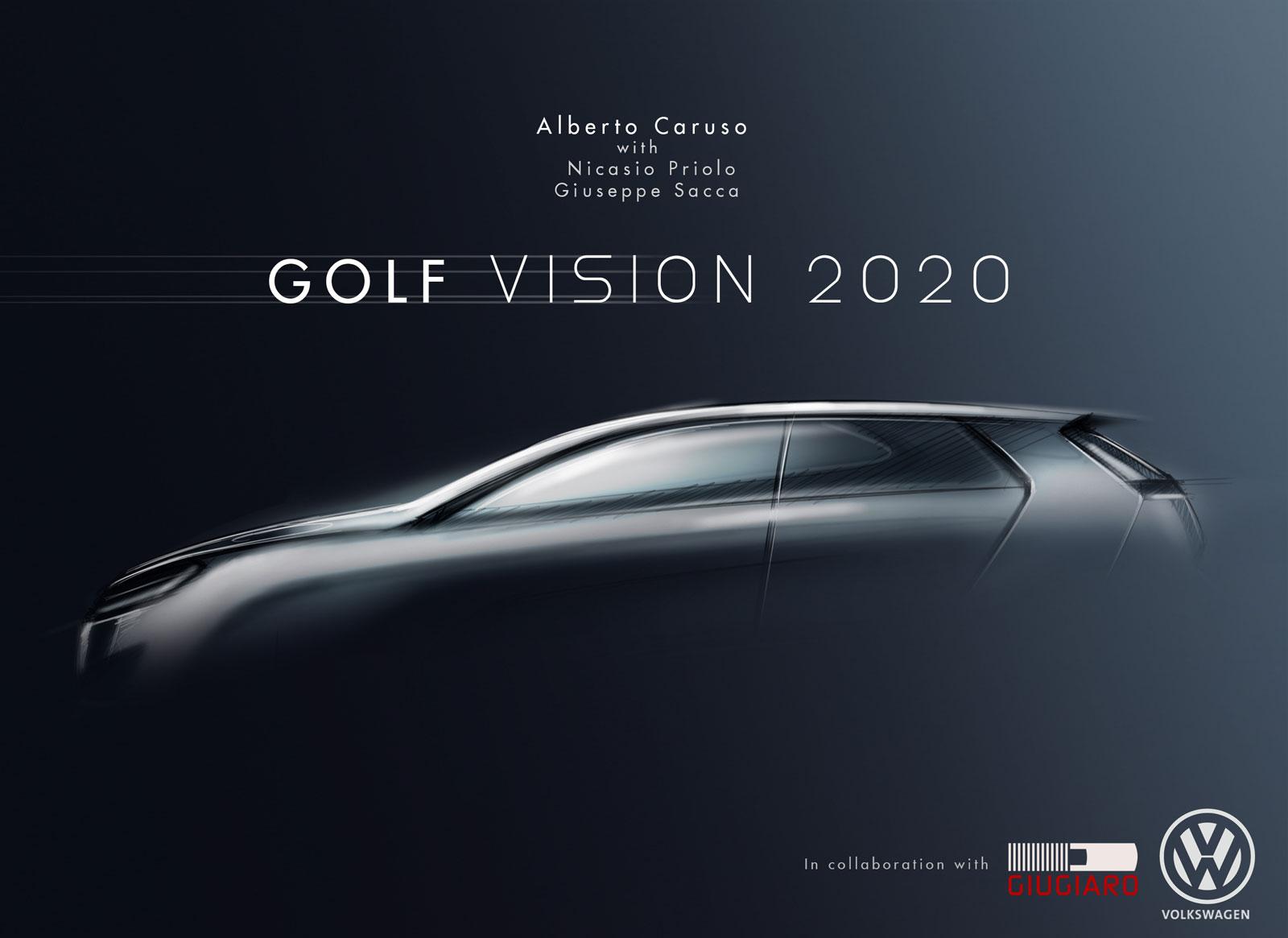 Volkswagen Golf Vision 2020 Concept Cover Car Body Design