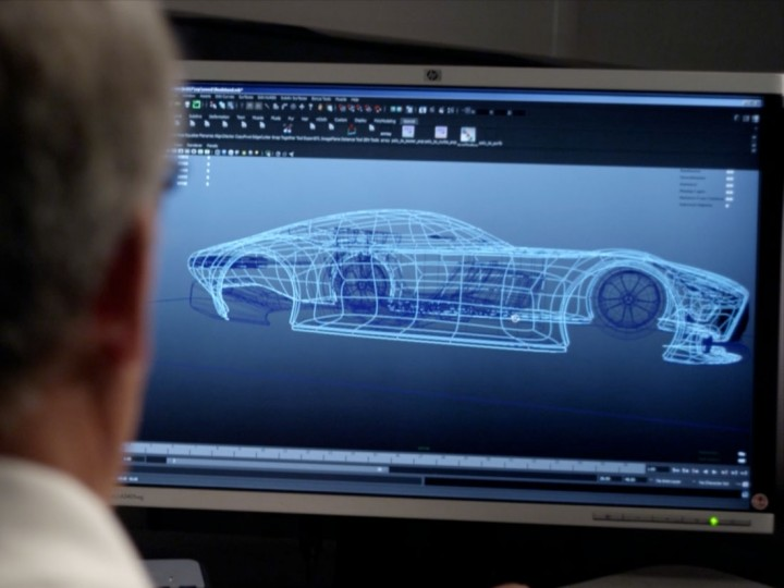 Mercedes Benz AMG Vision Gran Turismo Concept The Design