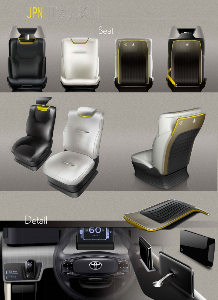 Toyota Jpn Taxi Concept Car Body Design