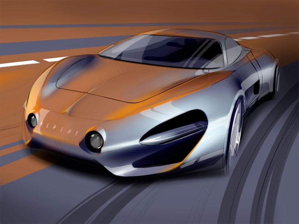 Alpine Concept Design Sketch by Arseniy Kostromin  Car