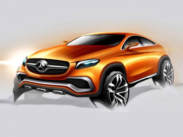 Image result for basic mercedes suv digital painting