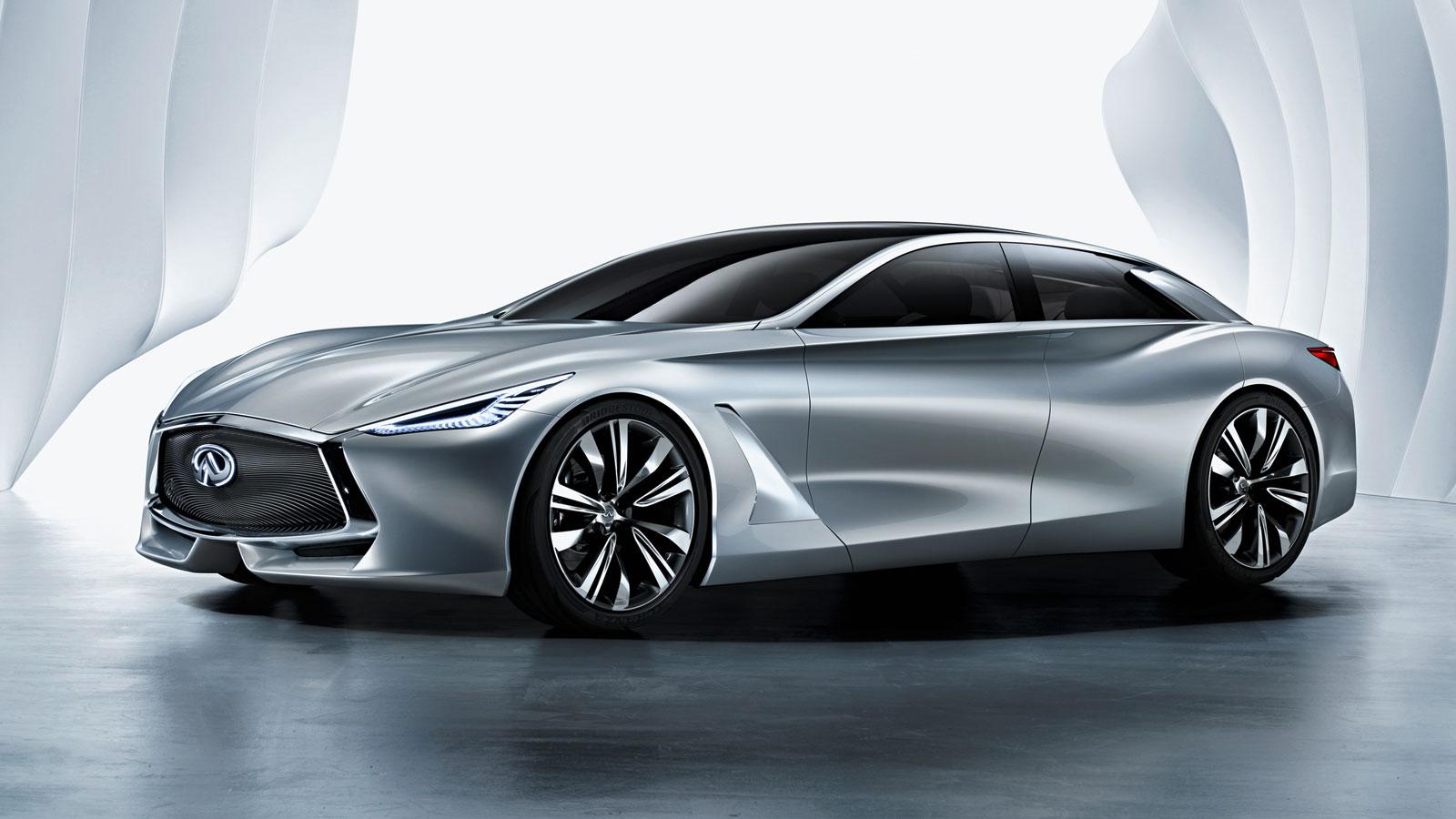 Infiniti Q80 Inspiration Concept Car Body Design