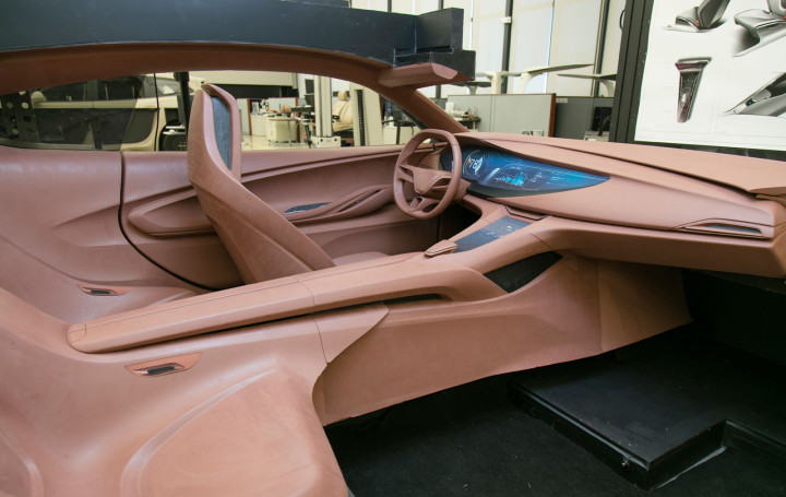 Buick Avista Concept - Interior Clay Model