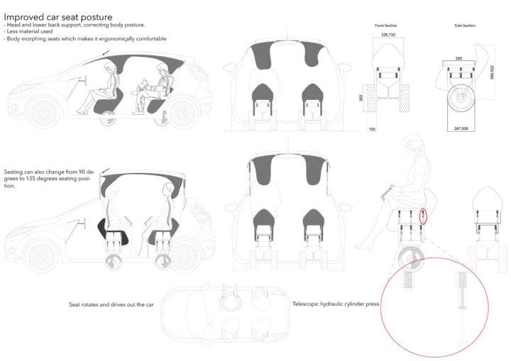Ravensbourne design students envision futuristic Ford