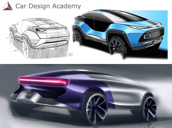 Learn car design online with Car Design Academy - Car Body Design
