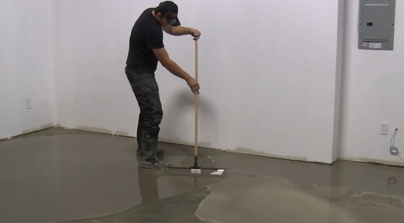 Concrete Floor Leveling Diy Poemsromco - What to use to level concrete floor