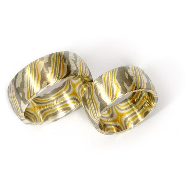 Goldschmiede mojo design  Mokume Gane