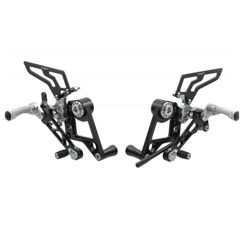 Commandes reculées réglables CNC Racing pour Ducati