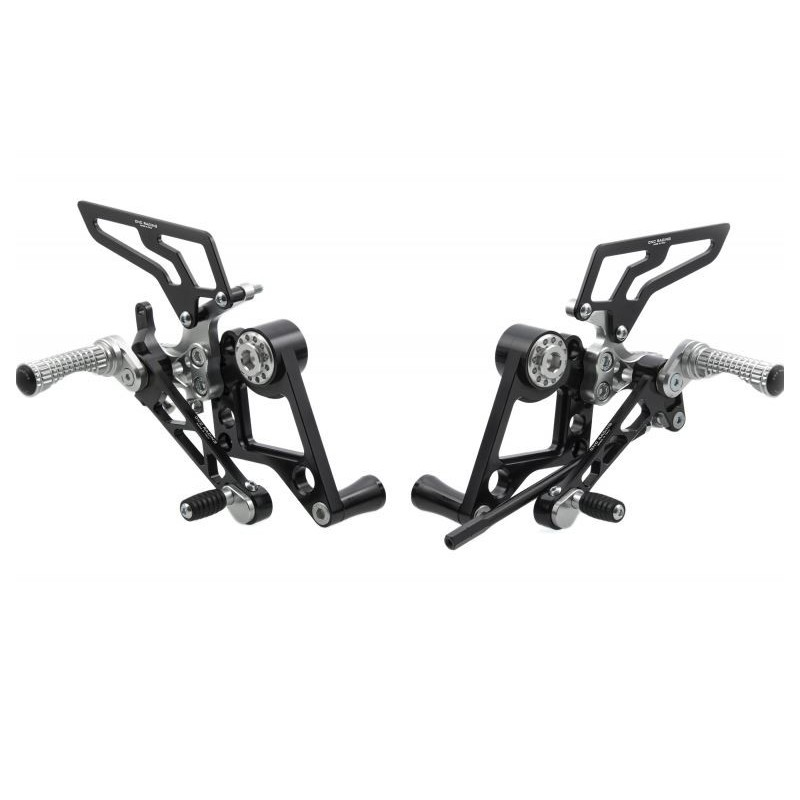 Estriberas regulables CNC RACING para Ducati Monster