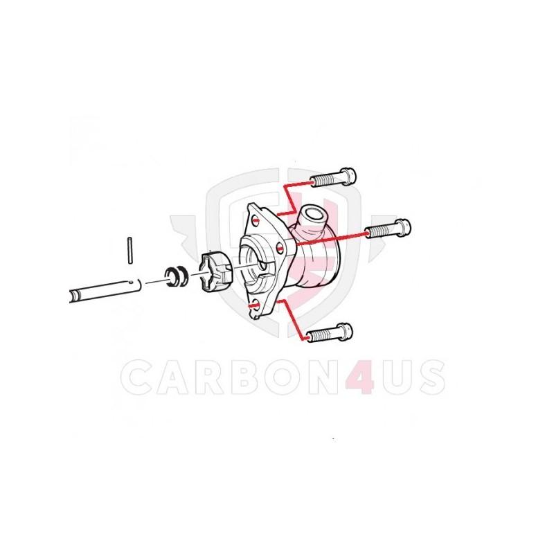 Vis titane actionneur d'embrayage pour Ducati Panigale