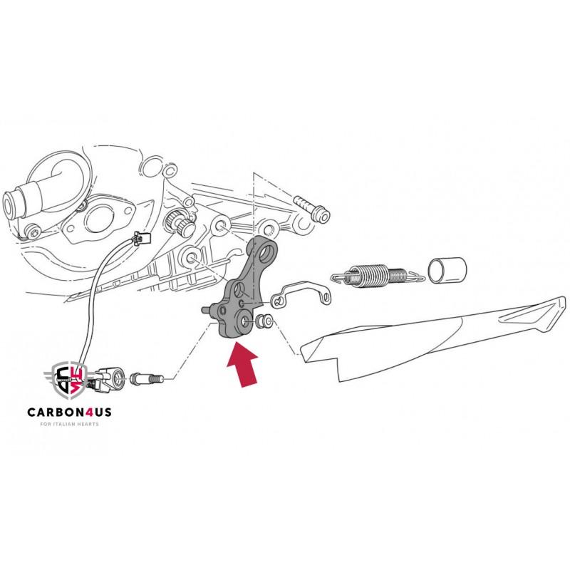 Ducati OEM Side kickstand braket Superbike 749-999