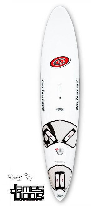 a windsurfing speed board