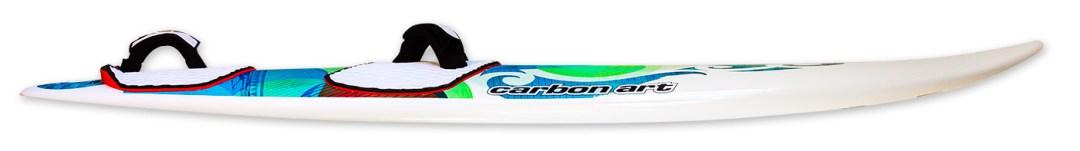 the wave SC windsurf board rocker