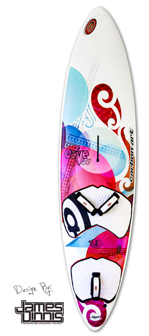 photo of the wave dc windsurfing board