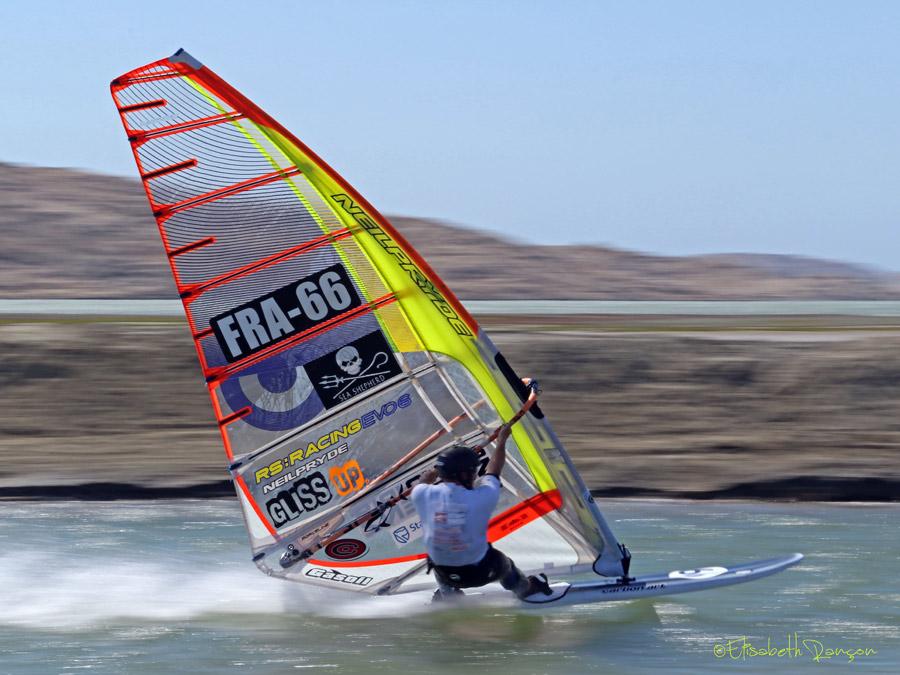 Slalom Speed board review test   Carbon Art Windsurfing