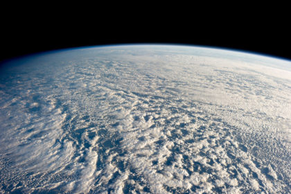 Stratocumulus clouds above the northwestern Pacific Ocean. Credit: ISS Expedition 34 Crew / NASA / Wikimedia Commons.