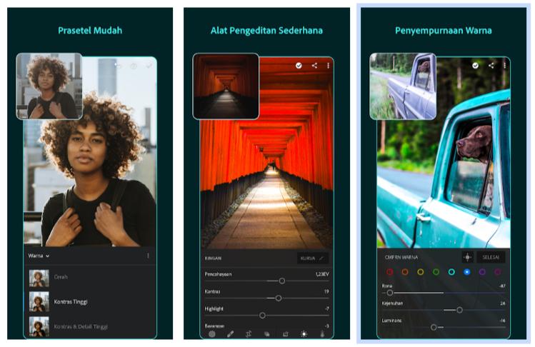 aplikasi edit foto android gratis