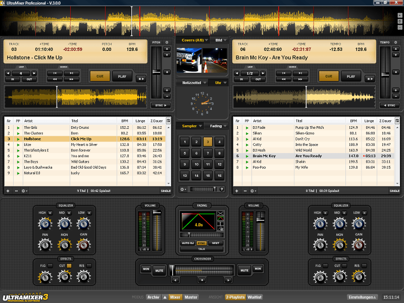 software dj mixer pc free