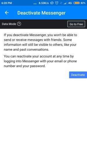 cara menonaktifkan notifikasi messenger