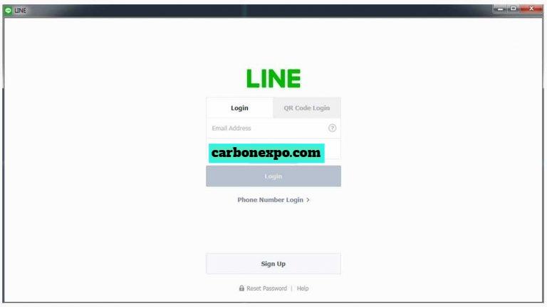 cara menggunakan line di laptop tanpa download