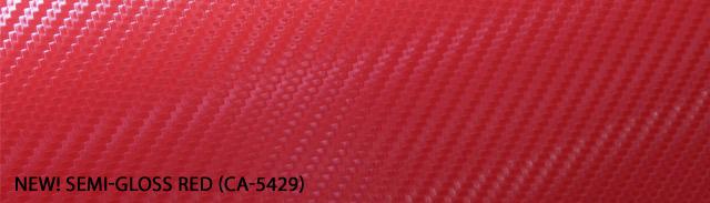 Red carbon fiber 3M DI-NOC vinyl CA-5429