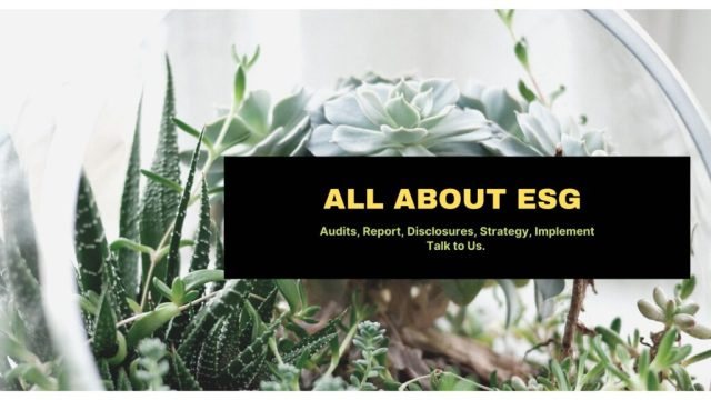All About ESG
