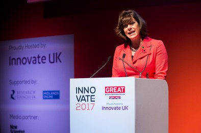 Innovate 2017 Minister Claire Perry