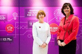 Innovate2017_Ruth_McKernan_Minister_Claire_Perry