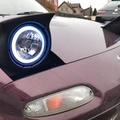 Headlight Motor Wiring Miata 2006 Ford F150 Radio Diagram Led Halo Ring Kit With Remote Control The Ultimate Resource For