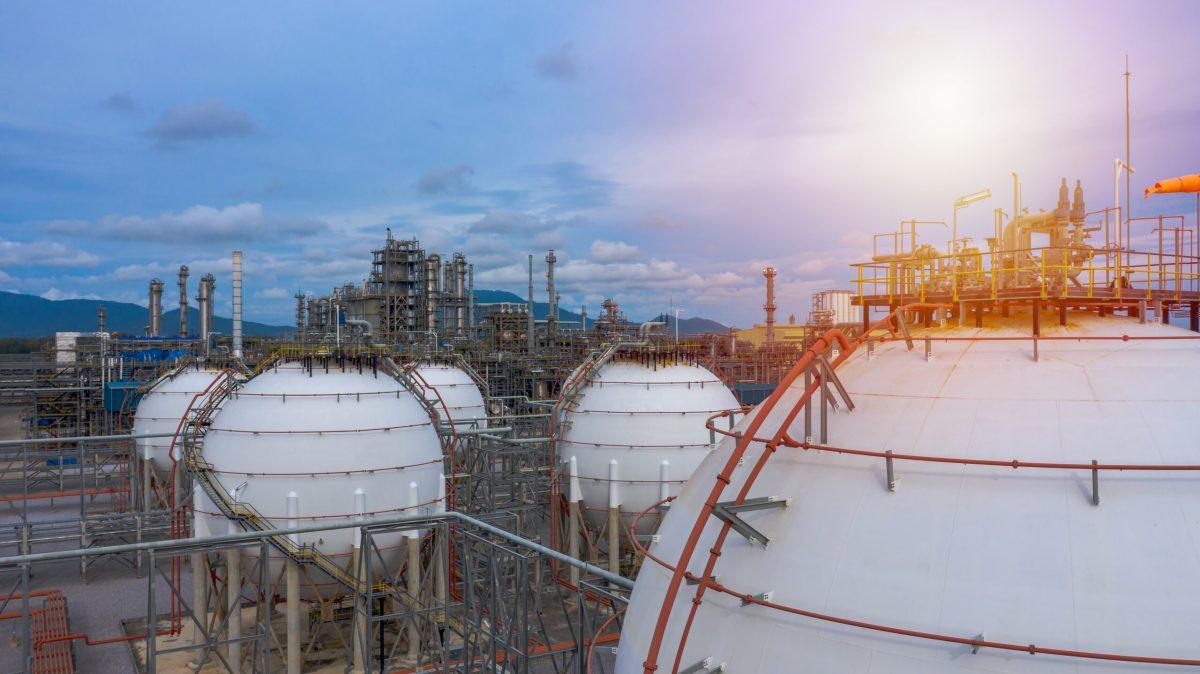 Natural gas liquefaction plant
